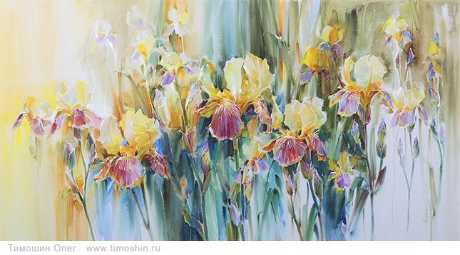 Картина солнечные цветы год создания