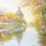 Картина In the stillness of autumn