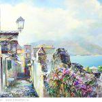 Картина Голубая Италия