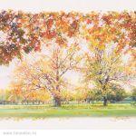 Картина Осень. Коломенское
