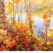 живопись: Дивная осень