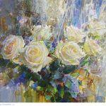 Картина Snowy Rose