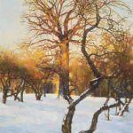 Картина January. Year in Kolomenskoe