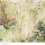 Картина Купальский лес