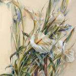 Картина Белые цветы