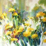 Картина Весенний салют