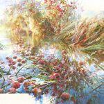 Картина Autumn blows …