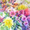 Картина Поздние цветы