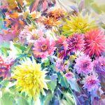Картина Late Flowers