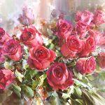 Картина Чувственность. Розы