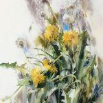 Картина May. Dandelions