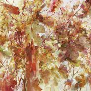 живопись: Осенние качели