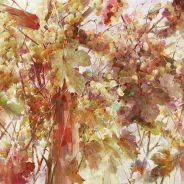 живопись: Autumn swing