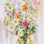 Картина Дачные цветы