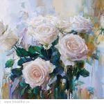 Картина Розы. Зима