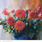 Картина Розы. Осень