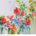 Картина Bouquet with poppies