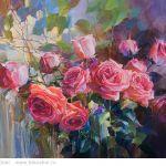 Картина Розы. Лето
