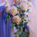Картина Белые розы
