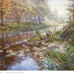 Картина Осеннее утро