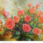 Картина Розы. Весна